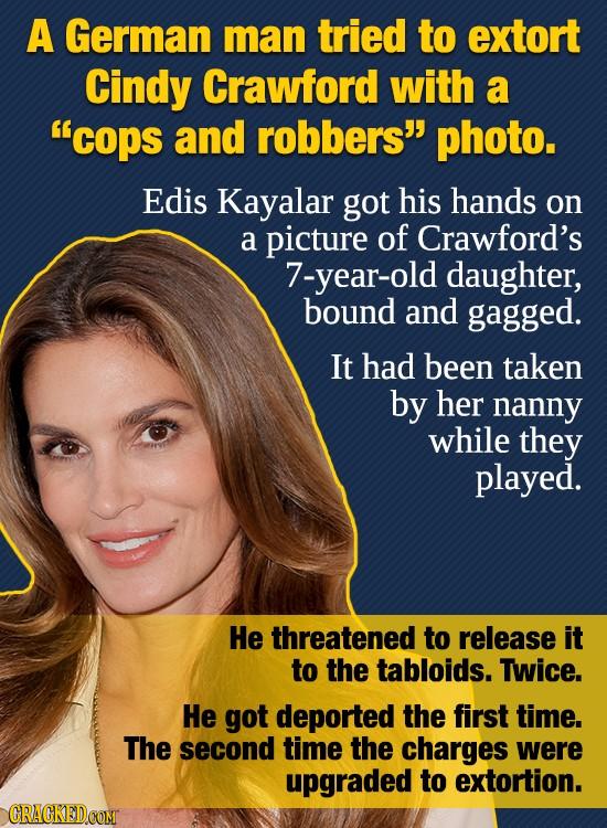 25 Celebrities Who Were Involved In Bizarre Crimes