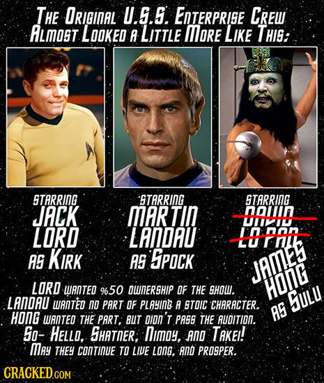27 Insane (But True) Early Versions of Famous Characters