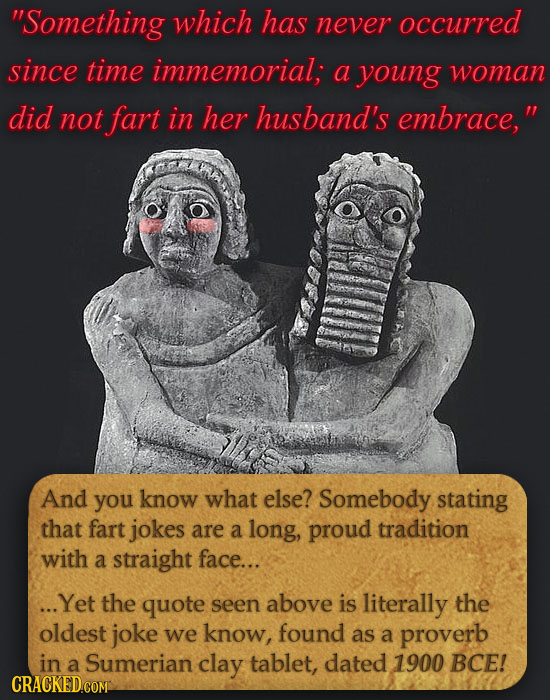 18 Ancient Jokes That Are Still Shockingly Funny Today