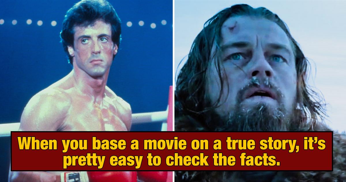 28 'True Story' Movies That Weren't True At All