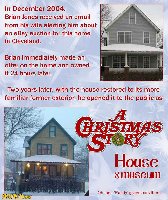 In December 2004, Brian Jones received an email from his wife alerting him about an eBay auction for this home in Cleveland. Brian immediately made an
