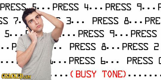 PRESS. 5... PRESS 4...PRESS 9...F S 7. 3... PRESS 8... PRE 5... .PRESS 9...PRESS ..P PRESS 8...PRESS 2 .PRESS b... PRESS C C BUSY TONE)..... CRACKEDCO