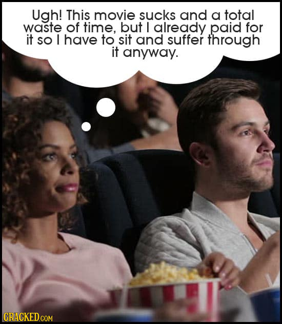 Ugh! This movie sucKs and a total waste of time, but I already paid for it SO I have to sit and suffer through it anyway.
