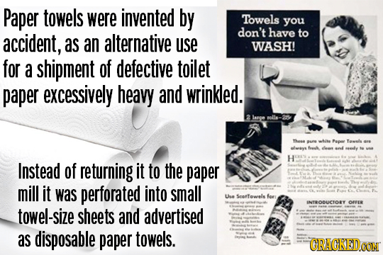 The Insane History Of 30 Things You Use Every Day