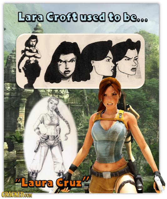 Lara Croft used to be... Doy Laura Cruz' CRACKEDCON