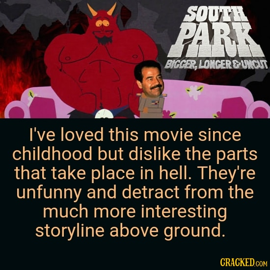 All The Hateable Stuff In Beloved Movies & Shows