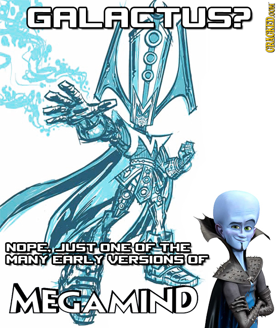 GLIDDUS CRACKED.CON NOPE. JUST ONE OF THE MMANY EARLY VERSIONS OF MEGAMIND
