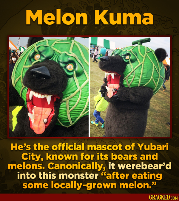 Japan Has A Mascot For Absolutely Everything