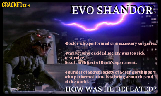 EVO SHANDOR -Doctor yho performed nneccessary surgeries. -WW vet wcho decided society was too sick to survive: Occu It arch itect of Dana's a apartmen
