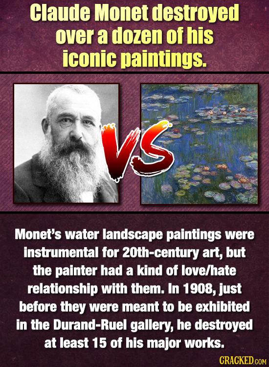 12 Artists Who Hated Their Most Famous Creations