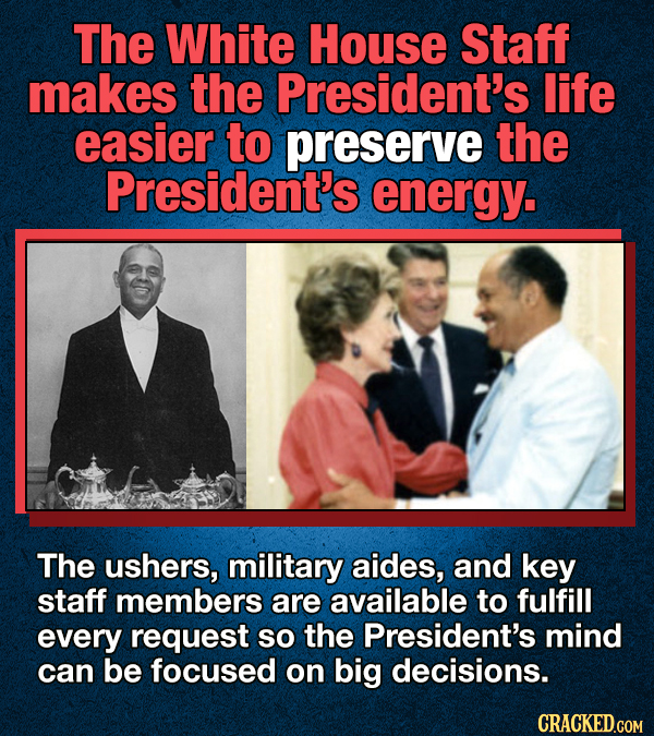 14 Facts About Being The U.S. President (In Case You're Considering)