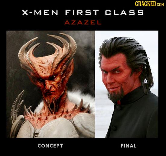 X-MEN FIRST CLASS AZAZEL CONCEPT FINAL