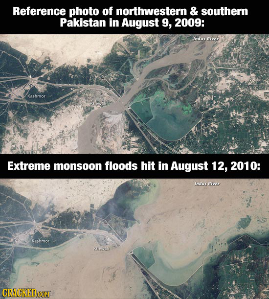 23 Places The World Changed Shockingly Fast [Before & After]