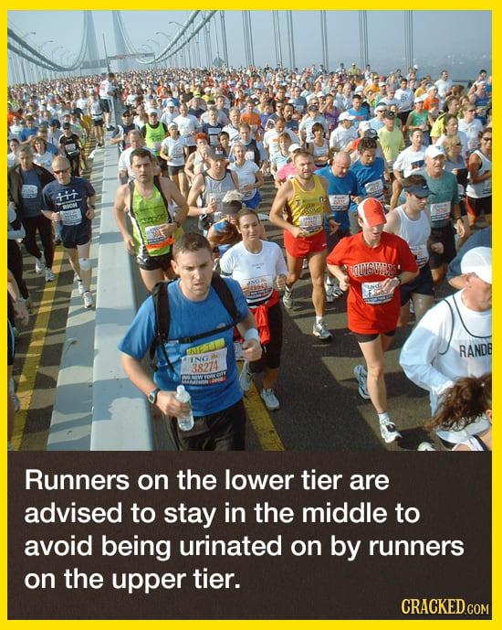 The  Secret, Gross Tradition Of The New York City Marathon