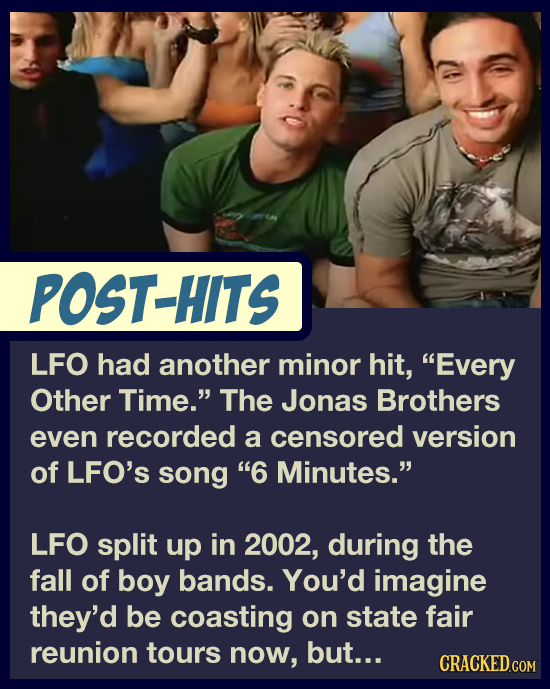 The Tragic Story Behind LFO, The 90s Group Who Sang 'Summer Girls'