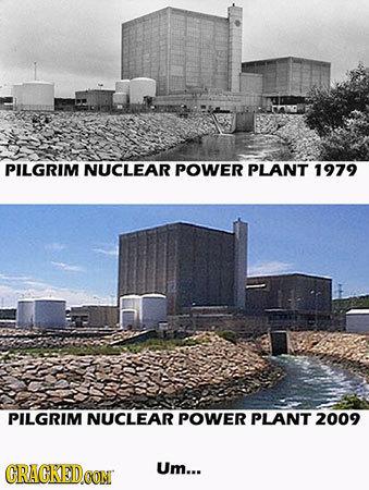 PILGRIM NUCLEAR POWER PLANT 1979 PILGRIM NUCLEAR POWER PLANT 2009 CRACKEDCON Um...