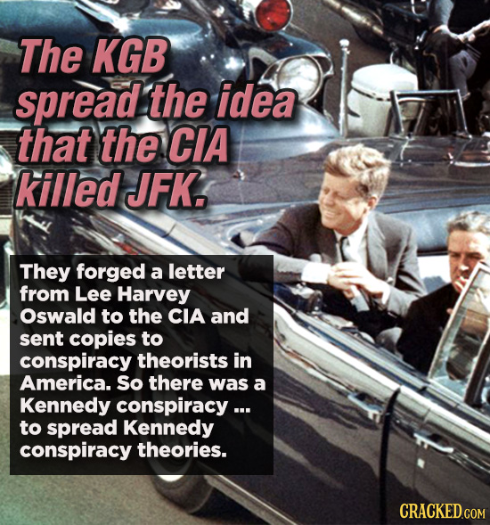 Conspiracies That Aren't Theories, They Happened