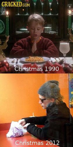 Christmas 1990 Christmas 2012