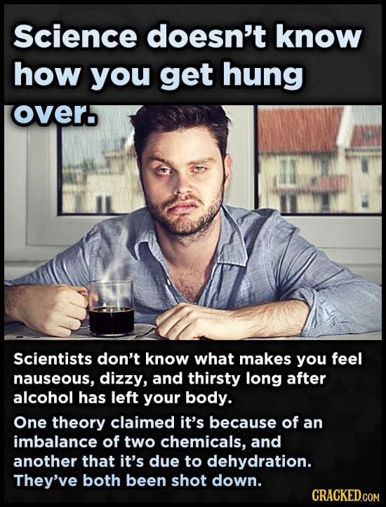 20 Things That Work, But Scientists Have No Idea Why