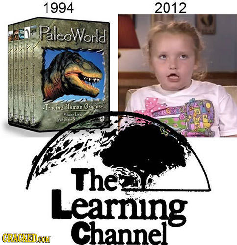 1994 2012 Paleoworld Tracing Human Origins. M 1Peg TE The Learning Channel CRACKEDOON