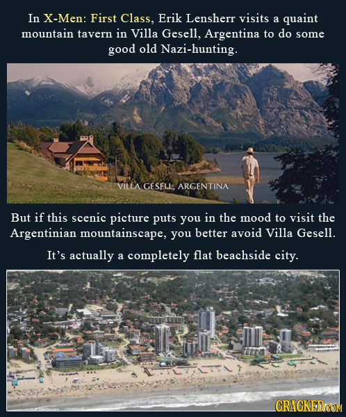Places People Picture Wrong (Thanks to Movies)