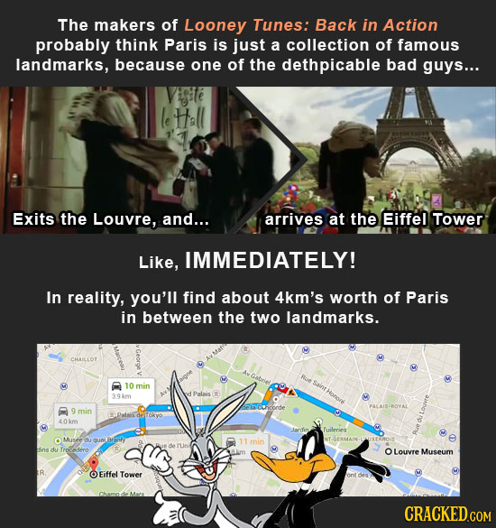16 Places Everyone Pictures Incorrectly (Thanks to Movies)