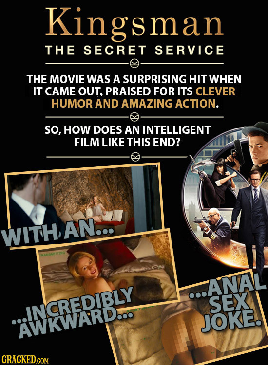 21 Cringeworthy Moments In Otherwise Great Films