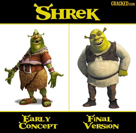 SHREK Early FiNal ConcePt Version
