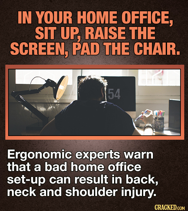 Facts About Working From Home (To Distract You While You're Working From Home)