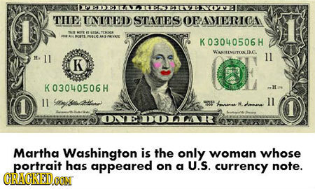 TIe: INNITED STATES OFPAMERICA DEIS K03040506H WANSTANATOK.DC l1 . 11 K K03040506H Ho 1 it&hada aod ll k. H.anee DOAR Martha Washington is the only wo