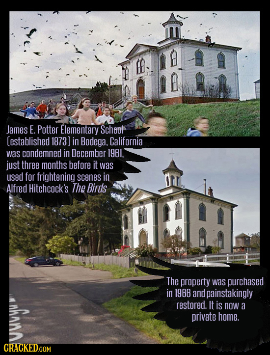 How Famous Movie Places Look IRL