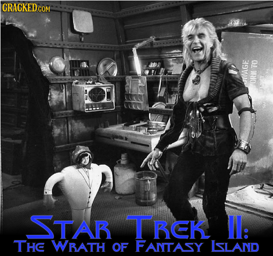 7O JAGE ORM STAR TBEK Il: THC WBATH OF FANTASY LSLAND