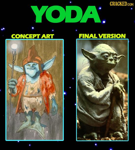 YODA. CRACKED.COM CONCEPT ART FINAL VERSION