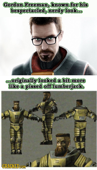 35 Early Designs Of Characters Their Creators Want Burned