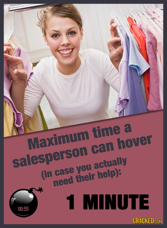 time a Maximum hover can salesperson actually you (in case their help): need 1 MINUTE 00:55 CRACKED COM