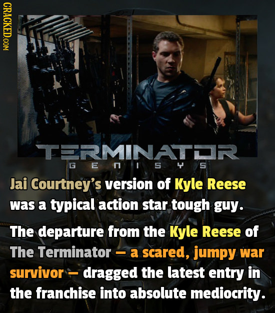 19 Movies That Are Ruined By The Actor Playing The Lead