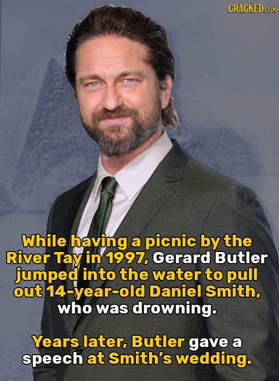 27 Celebs Doing Heroic Things You Never Hear About