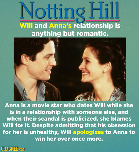 Movie And TV Relationships That Wouldn't Work