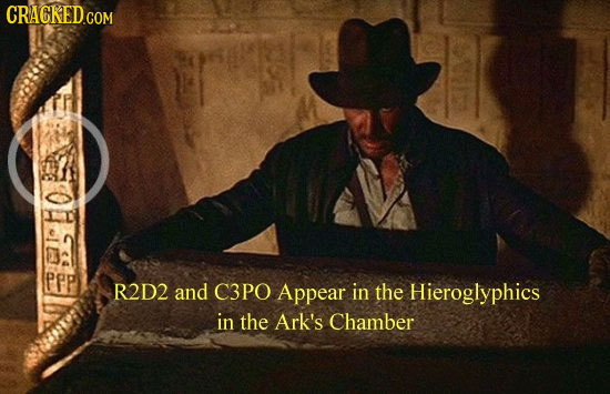 pep R2D2 and C3PO Appear in the Hieroglyphics in the Ark's Chamber