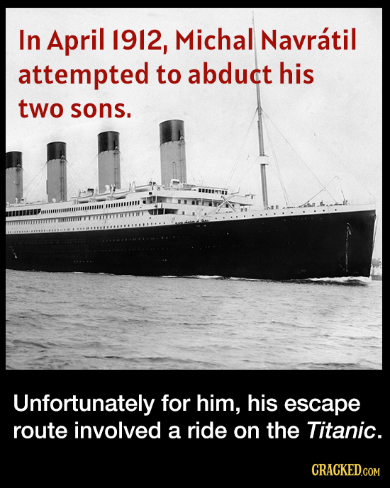 The Kidnapping Foiled By The Titanic Sinking