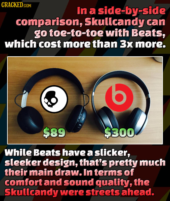 Pricey Stuff That Doesn't Measure Up To Cheaper Versions