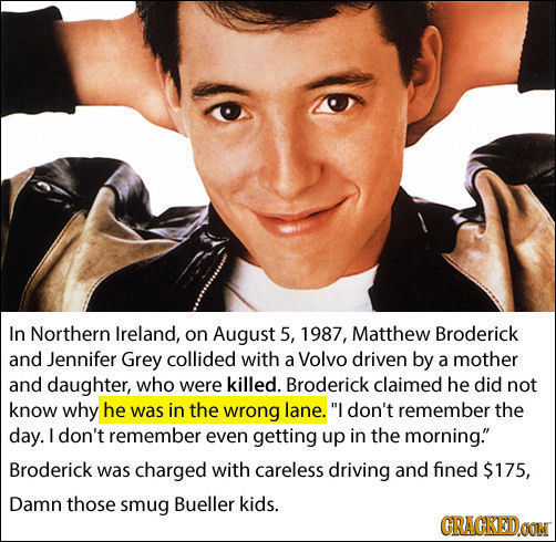 19 Insane Facts About Famous People They Want to Keep Secret
