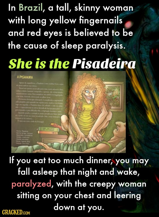 31 Terrifying Monsters Causing Insomnia Around The World