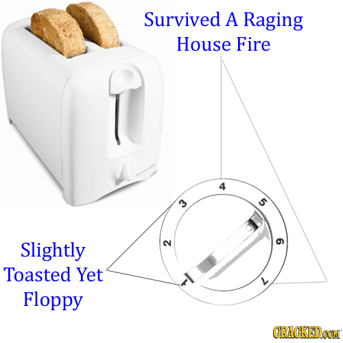 Survived A Raging House Fire 4 5 Slightly 2 9 Toasted Yet Floppy CRACKEDCON