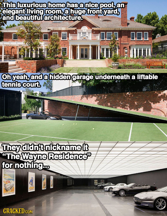 The 24 Most Insane Features Of Real Life Houses