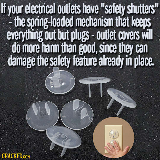 19 Safety Items That Do Nothing To Make You Safer