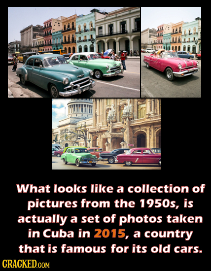19 Real Photographs You'd Swear Were Proof Of Time Travel