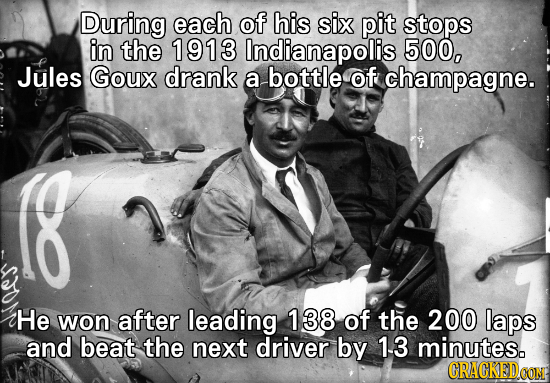 16 Historical Events Only Made Possible By Drugs And Alcohol
