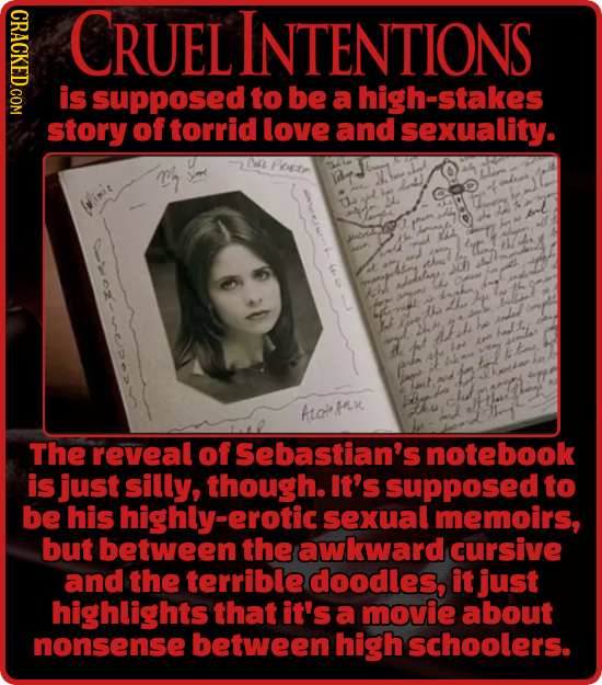 IHDROIY. CRUEL INTENTIONS is supposed to be a high-stakes story of torrid love and sexuality. O Poueen Winit Ua Soe ha eal MLK The reveal of Sebastian