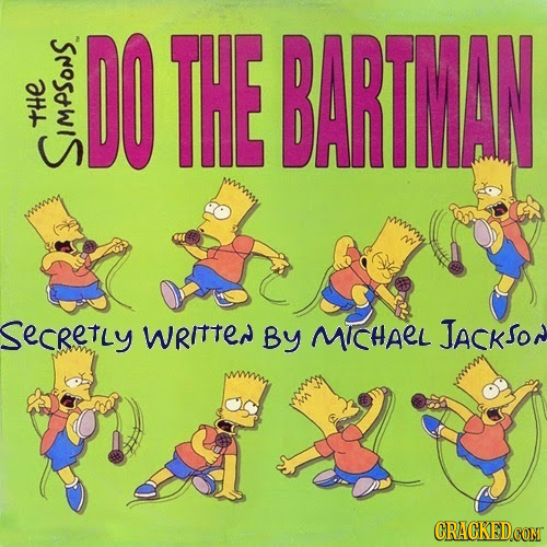 THE BARTMAN tHE SIMPSONS SecRetLy wRITTEN By MICHAEL JAcKSON